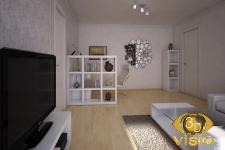 3D-визуализация гостинной в Европе